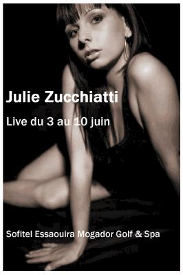 Live Music : Julie Zucchiatti en duo acoustique Guitare/Voix