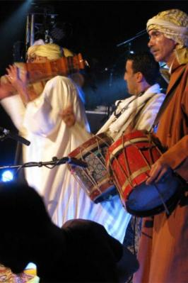 A.r.b.f et la troupe des Hmadcha au Borj Bab Marrakech